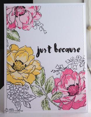 Just Me: c: Playing with Altenew's Beatiful Day...Inkspirational Challenges #111~Masking