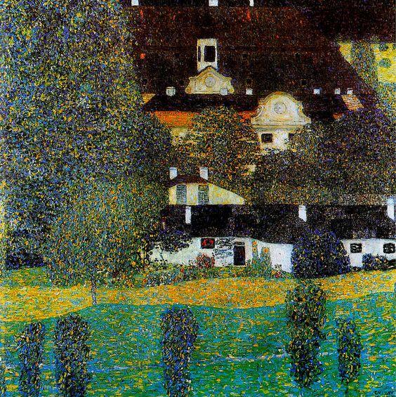 Gustav Klimt, (Austria, 1862-1918) Bauernhaus in Kammer am Attersee - Google…