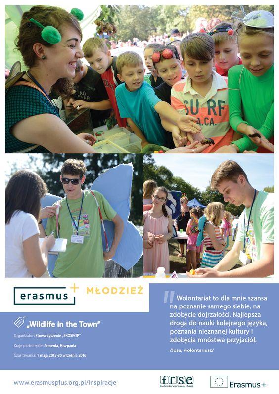 Erasmus + Młodzież   Akcja 1 Mobilność młodzieży (Wolontariat Europejski)