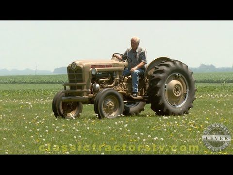Golden Ford Tractor The 1959 Ford 881 Golden Demonstrator Classic Tractor Fever Youtube Classic Tractor