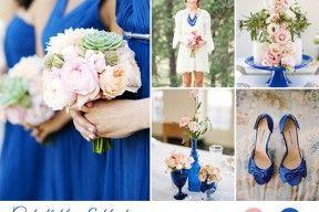 matrimonio blu cobalto e rosa cipria | wedding wonderland