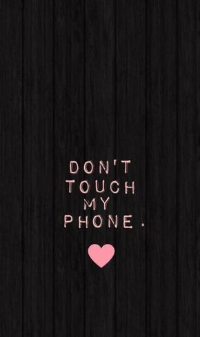 Pin By Khoirunissa On Wallpaper Dont Touch My Phone Wallpapers Wallpaper Iphone Cute Lock Screen Backgrounds Iphone phone wallpaper dont touch my