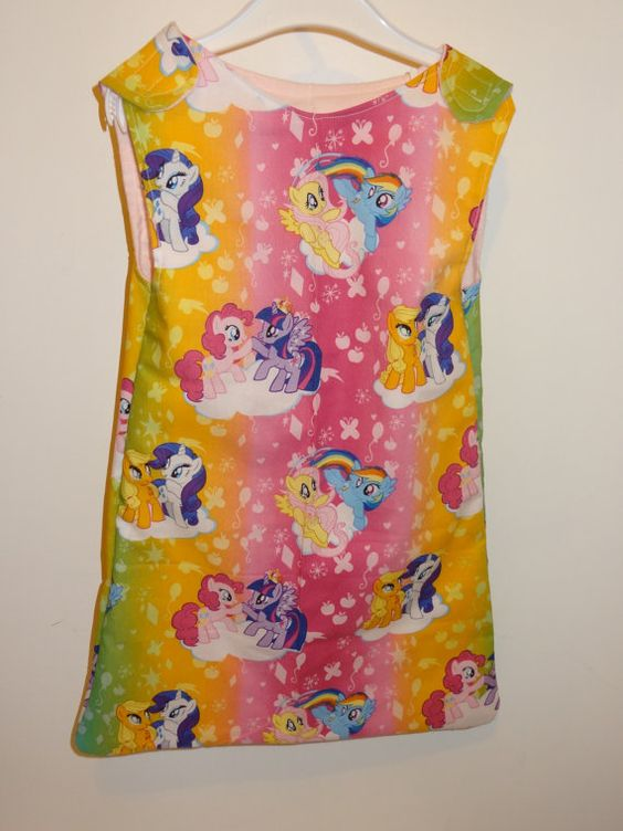 My Little Pony Patterned Spring Cotton and by DesignsByGranGran