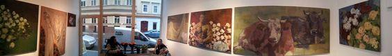 Adrian Moldovan Ausstellung in der Galerie Time 21. 5. - 1. 6. 2012