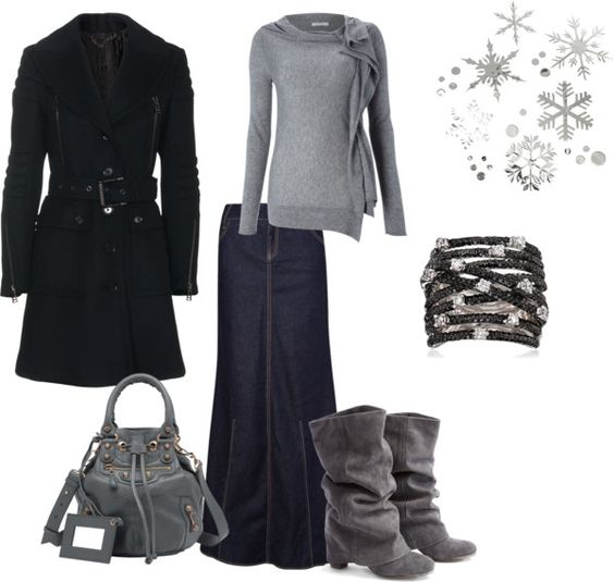 """Subdued Winter Day"" by journeesmama on Polyvore"