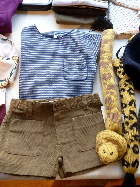 Oeuf Mask and Tails for a safari outfit, at Liberty in London  #oeufnyc #mask #safari #Libertylondon