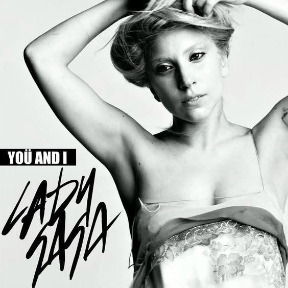 Lady Gaga – Yoü and I (single cover art)