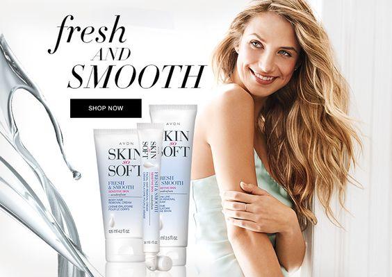 skin so soft fresh & smooth