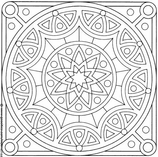 coloring pages islamic patterns images - photo#4