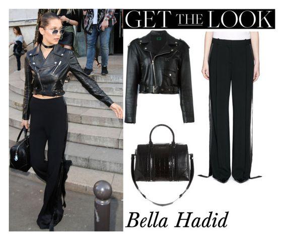 Bella Hadid Leaves Alexandre Vauthier Fashion Show Paris July 6, 2016