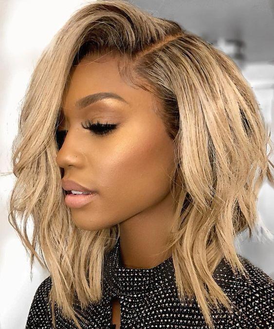 246 Best Blonde Hair On Black Women Images Hair Hair