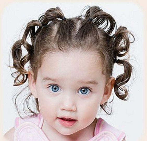 11 Peinados para ninas para bautizo cabello corto