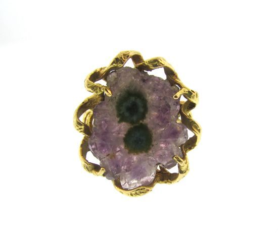 Ametrine Art Ring