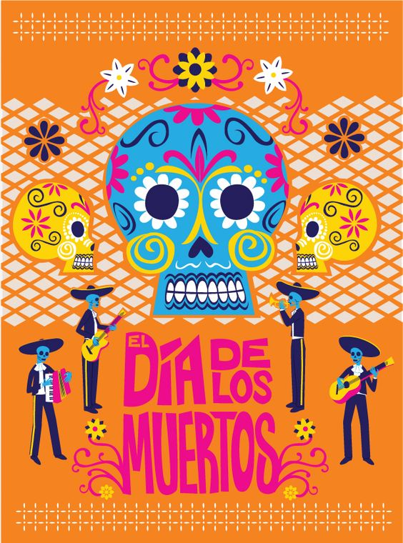 Day of the Dead by artist Nicole Chartier.