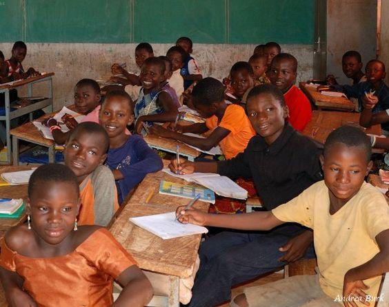 Beautiful kids in public school