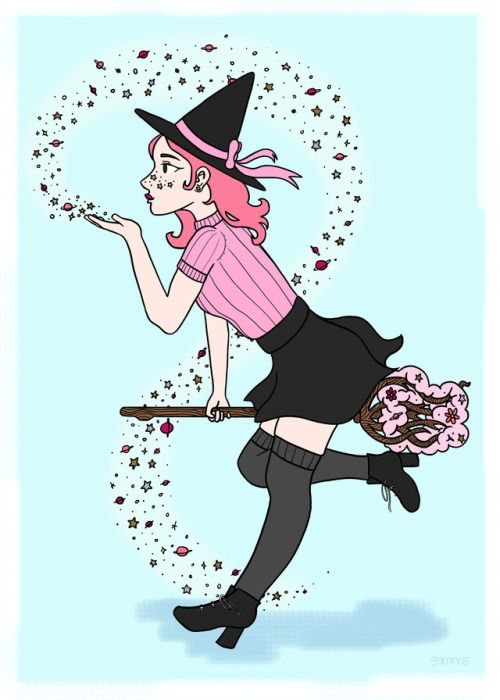 Pin By Rudy Lestrange On Modern Witch Witch Art Cute Art Witch Aesthetic