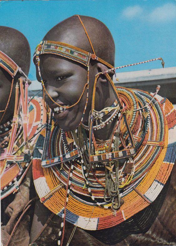 Maasai Girl Kenya 1971