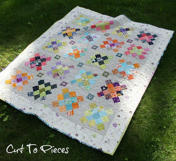 Granny Square Quilt 2 by Cut To Pieces, via Flickr