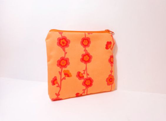 Small Zipper Pouch Small Wallet Small by handjstarcreations, $9.00