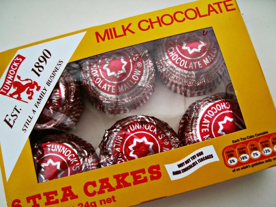 Tunnocks Tea Cakes (all of them)