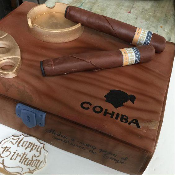 Classy Cigars cake