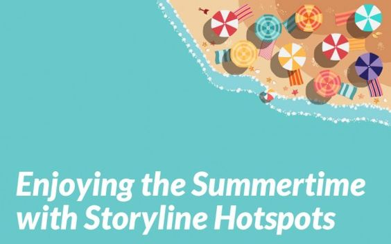 We've created some awesome interactions that will allow you to spend those hot summer months pumping out professional-looking eLearning courses that utilize the hotspot functionality of Storyline.