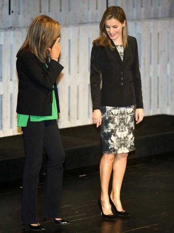 !! REAL- MY ROYALS !! - Queen Letizia attended 'V De Vida' Award  in San Sebastian, Spain.