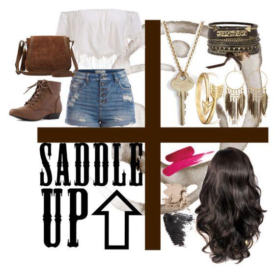 """saddle up"" by josephine-smith ❤ liked on Polyvore"