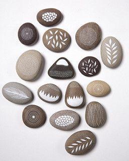 365 Nature (Book)   by Natasha Newton Art - I LOVE these beautiful painted stones!