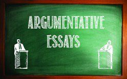 argumentative essay advertisement