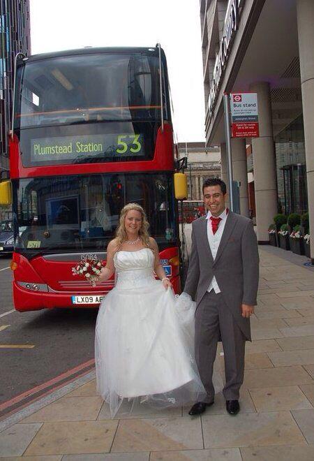 London bus #wedding