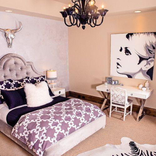 ديكورات غرف نوم ديكور غرفة نوم بنات مراهقات متعددة الألوان في دنفر كولورادو 119 Beauty Room Decor Bedroom Interior Elegant Bedroom