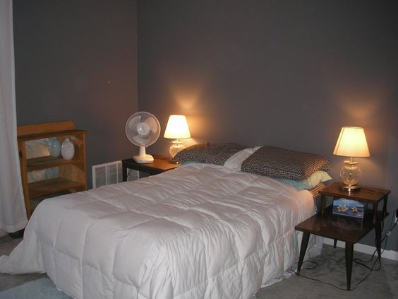 - Bed without headboard ideas ...