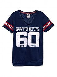 Reppin for the other home team...Vicky Secrets Patriots jersey