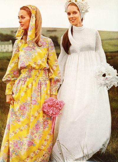 Bride and Bridesmaid  #1970's: