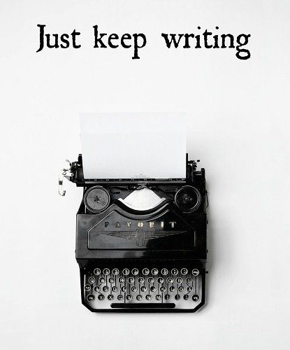 Keep writing!>> yeah, it's hard though                                                                                                                                                                                 More:
