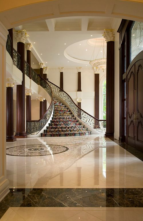 Wealth and luxury i 39 ll take the stairs pinterest for Luxury staircase design
