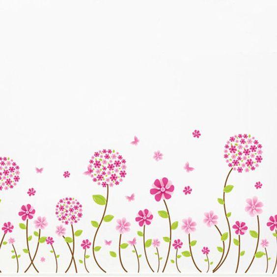 Bordes decorativos con mariposas imagui tarjetas for Sticker decorativos para ninos
