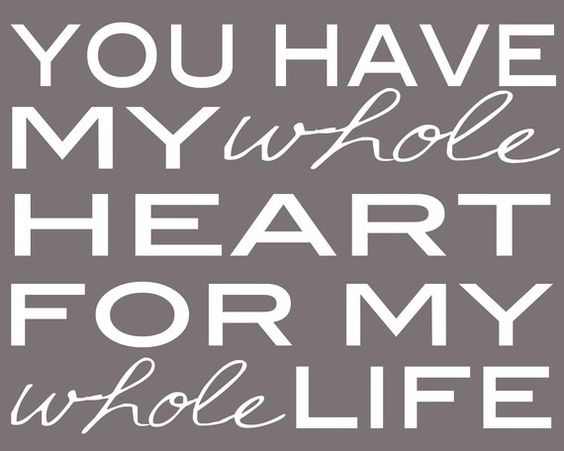 whole heart. whole life.