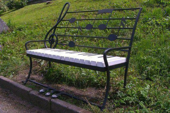piano bench: a different take