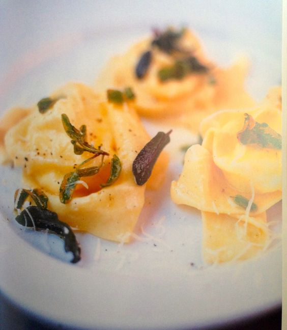Tortellini of Ricotta, Lemon, Parmesan and Sage Butter recipe