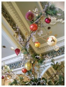 Natal: Decoração de Natal suspensa