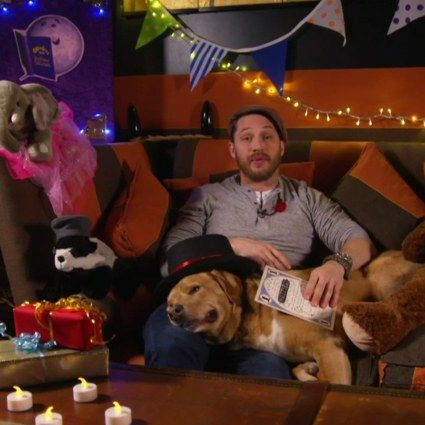 Tom Hardy Reading a Bedtime Story Is His Best Role in Years | GQ