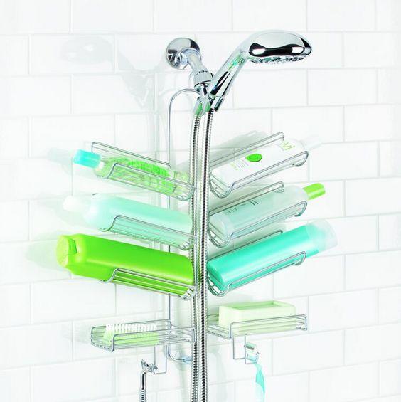 Pinterest the world s catalog of ideas - Rangement gel douche ...