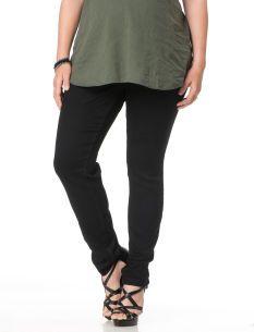 Plus Size Secret Fit Belly(r) 5 Pocket Skinny Leg Maternity Pants