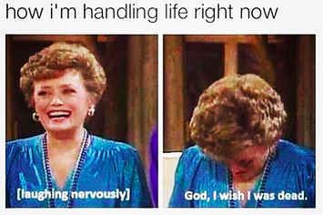 """25 Pictures Only Fans Of """"The Golden Girls"""" Will Think Are Funny"""