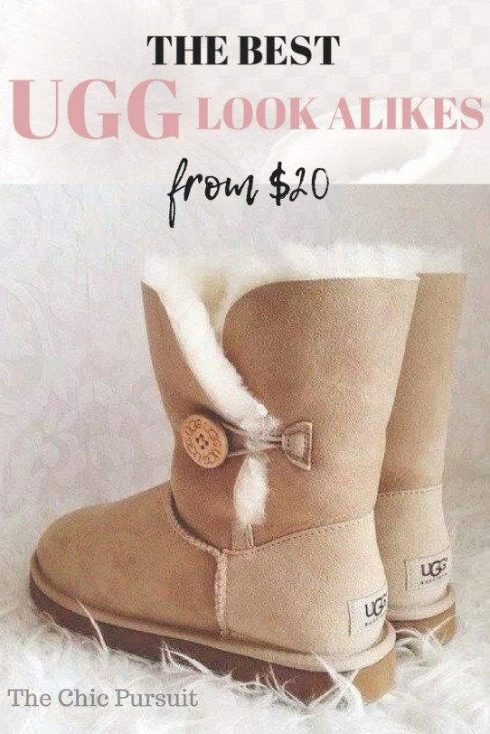 The Best Ugg Look Alike Boots Under $30