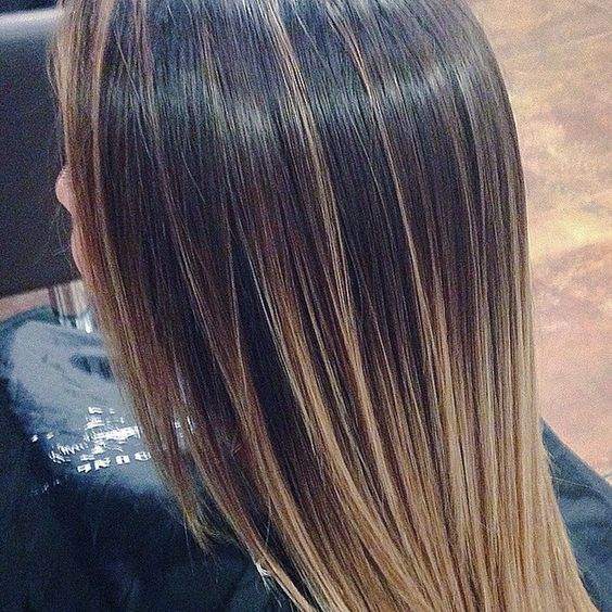 close shot of @glorose88 #ombre i used #schwarzkopf #blondme #bleach with 40 volume  and #olaplex #young #american #theyoungamerican #salon #tustin #longhair #blonde #balayage #womenshair #davines #oimilk #oioil