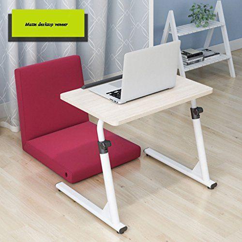 Jpzhuozi Adjustable Mobile Lift Bedside Laptop Table Fold Lazy