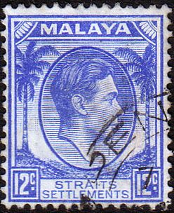 Straits Settlements 1937 SG 285 King George VI Head Fine Used SG 285 Scott 245 Other British Commonwealth Stamps to see here